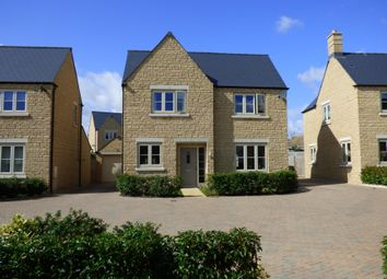 Thumbnail 4 bed detached house for sale in Spire View, Siddington, Cirencester, Gloucestershire