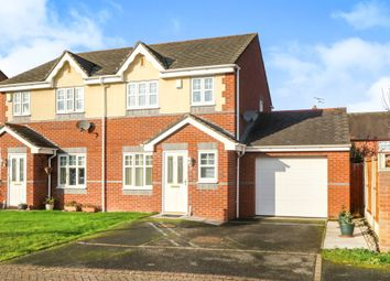 Thumbnail 3 bed semi-detached house for sale in The Beeches, Great Sutton, Ellesmere Port