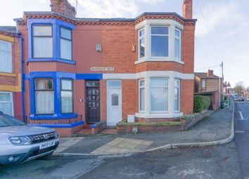 Thumbnail 3 bed end terrace house for sale in Grasville Road, Tranmere, Birkenhead