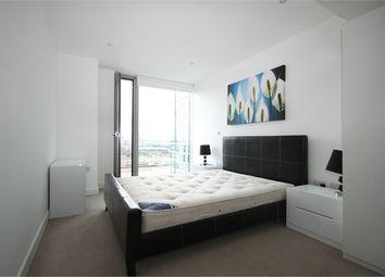 Thumbnail 1 bedroom flat to rent in Landmark East Tower, 24 Marsh Wall, London