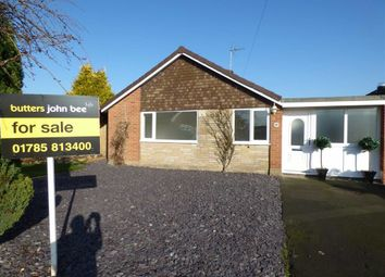 Thumbnail 2 bedroom detached bungalow for sale in Fraser Close, Stone, Staffordshire