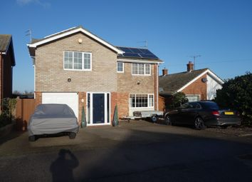 Thumbnail 4 bed detached house for sale in Conrad Road, Oulton Broad, Lowestoft, Suffolk