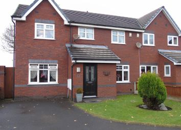 Thumbnail 4 bedroom semi-detached house for sale in Chaser Close, Aintree, Liverpool