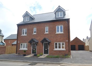 Thumbnail 4 bed semi-detached house for sale in Plot 163, The Wentworth, Heyford Park