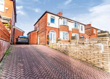 Thumbnail 3 bed semi-detached house for sale in Stockport Road West, Bredbury, Stockport, Greater Manchester