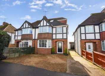 Thumbnail 4 bed semi-detached house for sale in Uplands Road, Oadby, Leicester