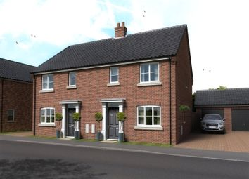 3 bed semi-detached house for sale in Plot 52, The Cricketers, Holt Road, Horsford NR10