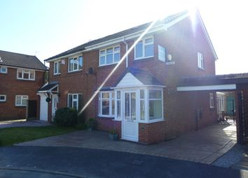 Thumbnail 3 bed semi-detached house to rent in Southpool Close, Bramhall, Stockport