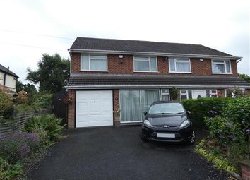 Thumbnail 3 bed semi-detached house for sale in Beechcroft Avenue, Hall Green, Birmingham
