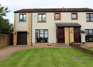 Thumbnail 4 bed semi-detached house for sale in Station Park, East Wemyss, Kirkcaldy