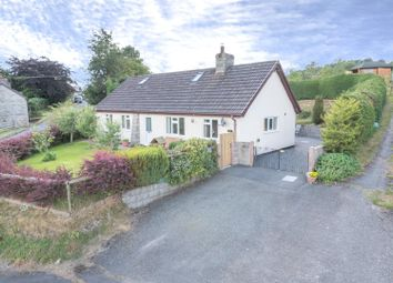 Thumbnail 4 bed detached bungalow for sale in St. Harmon, Rhayader
