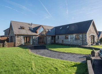 Thumbnail 5 bedroom equestrian property for sale in Morriston, Swansea