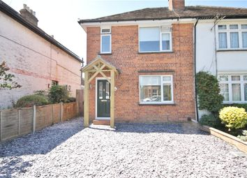 Thumbnail 5 bed semi-detached house for sale in Osborne Road, Egham, Surrey