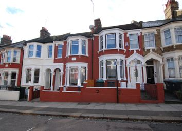Thumbnail 3 bed terraced house to rent in Effingham Road, Harringay, London