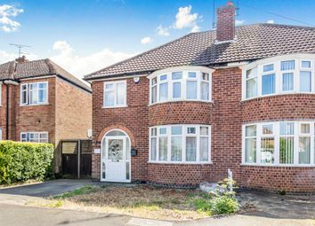 Thumbnail 3 bed semi-detached house for sale in Warmsley Avenue, Wigston