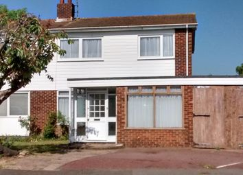 Thumbnail 4 bed semi-detached house for sale in Overhill Gardens, Brighton