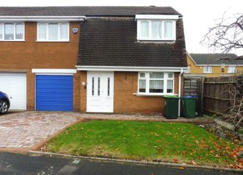 Thumbnail 3 bed semi-detached house for sale in Clarkes Grove, Tipton