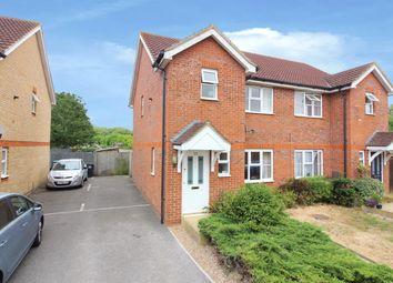 Thumbnail 3 bed semi-detached house for sale in Skylark Way, Ashford, Kent