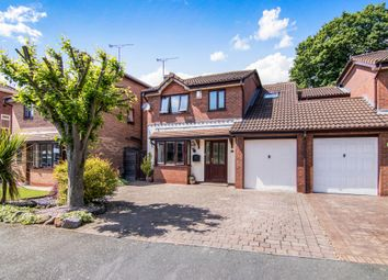 Thumbnail 3 bed detached house for sale in Cardiff Close, Great Sutton, Ellesmere Port