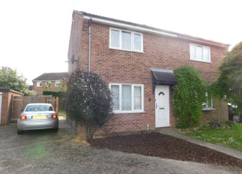 Thumbnail 2 bedroom semi-detached house for sale in Wordsworth Road, Stowmarket