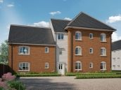 Thumbnail 1 bed flat for sale in Ipswich Road, Needham Market