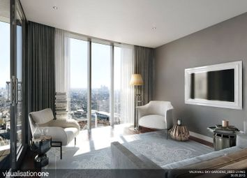 Thumbnail 2 bed flat to rent in Sky Gardens, Wansdworth Road, London