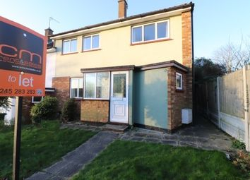 Thumbnail 3 bed end terrace house to rent in Well Mead, Billericay
