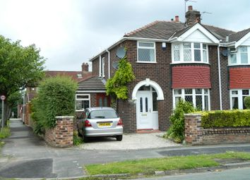 Thumbnail 3 bed semi-detached house to rent in Derwent Road, Stockton Heath