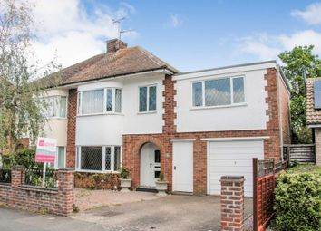 Thumbnail 5 bed semi-detached house for sale in Harvey Road, Rushden