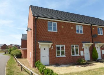 Thumbnail 2 bed end terrace house for sale in Apollo Avenue, Cardea, Peterborough