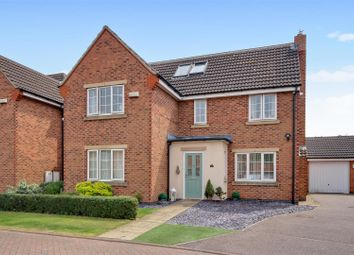 Thumbnail 5 bed detached house for sale in Thales Drive, Arnold, Nottingham