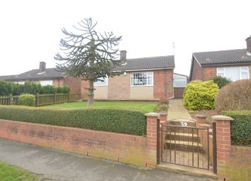 Thumbnail 2 bed detached bungalow for sale in Field Drive, Shirebrook, Mansfield