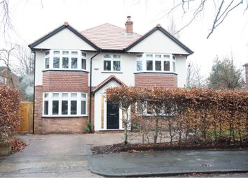Thumbnail 5 bed detached house for sale in Napier Road, Heaton Moor