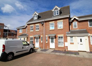 Thumbnail 3 bed terraced house for sale in Gillespie Close, Bedford, Bedfordshire