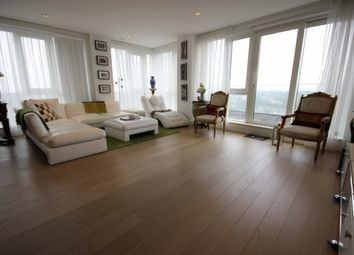 Thumbnail 3 bed flat to rent in Skyline House, Dickens Yard, Longfield Avenue, London