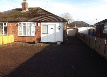 Thumbnail 2 bed detached bungalow to rent in Cinnamon Lane, Fearnhead, Warrington