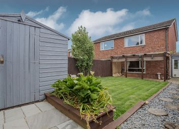 Thumbnail 2 bed semi-detached house for sale in Peartree Walk, Yaxley, Peterborough, Cambridgeshire.