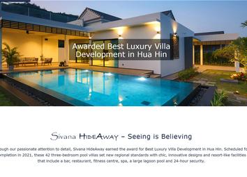 Thumbnail 3 bed villa for sale in Hua Hin, Thailand