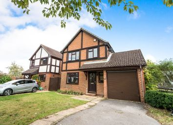 Thumbnail 4 bed detached house to rent in Cranesfield, Sherborne St. John, Basingstoke