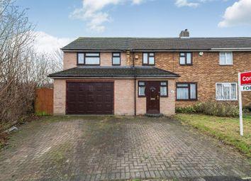 Thumbnail 4 bed semi-detached house for sale in Oakridge Road, Basingstoke