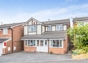 Thumbnail 4 bedroom detached house for sale in Eddisbury Drive, Waterhayes, Newcastle Under Lyme, Staffs