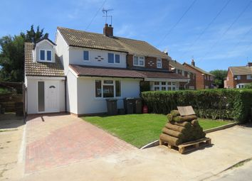 Thumbnail 3 bedroom semi-detached house for sale in Hornsby Close, Luton