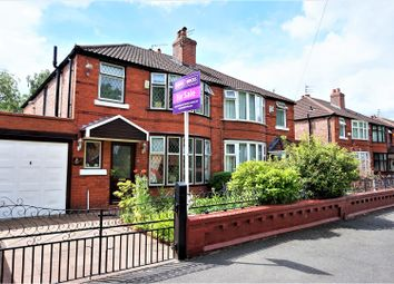 Thumbnail 3 bedroom semi-detached house for sale in Victoria Road, Manchester