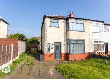 Thumbnail 3 bed semi-detached house for sale in Silverdale Road, Farnworth, Bolton, Greater Manchester