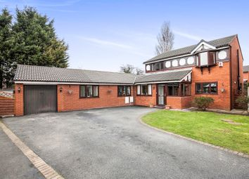 Thumbnail 6 bed detached house for sale in Wharton Close, Saughall Massie, Wirral