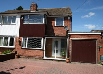 Thumbnail 4 Bed Semi Detached House To Rent In Sandringham Avenue,  Willenhall