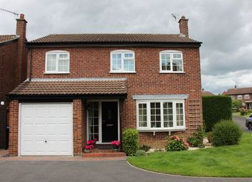 Thumbnail 4 bed detached house for sale in Apple Garth, Easingwold, York