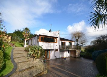 Thumbnail 5 bedroom detached bungalow for sale in Penelewey, Nr Feock, Truro, Cornwall
