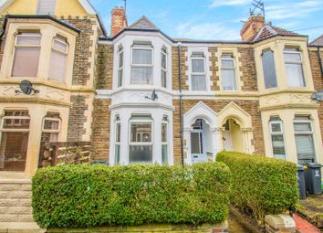 Thumbnail 4 bed terraced house for sale in Claude Road, Roath, Cardiff