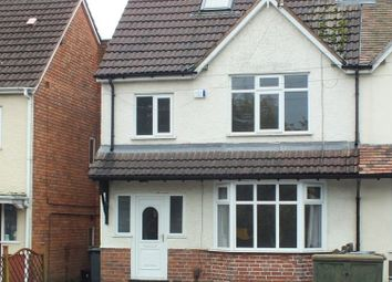 Thumbnail 3 bed semi-detached house to rent in School Road, Shirley, Solihull